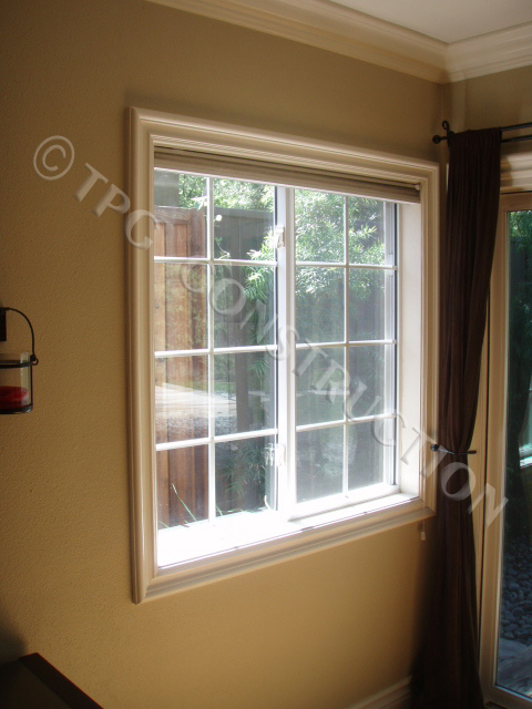 Picture Frame Window Casing